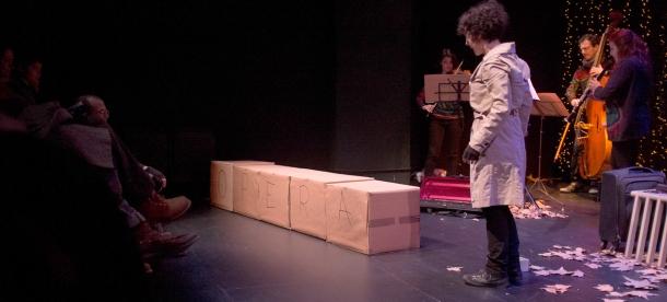 'Tres desechos en forma de ópera' © Elena Cuesta